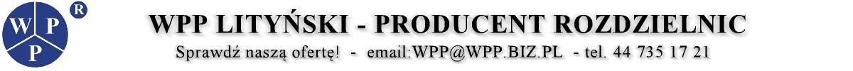 WPP Lityński – Producent Rozdzielnic